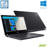 Notebook Acer Travel Mate, Intel® Core™ i3-7100U, 4GB, 1TB, Tela de 14'' - TMP449-G2-M-317Q