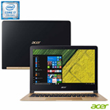 Notebook Acer® Intel® Core™ i7-7Y75, 8GB, 512 GB SSD, Tela de 13,3'', Dourado - SF713-51-M0BQ