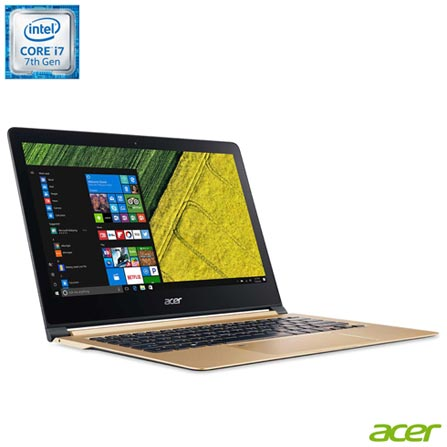 , Bivolt, Bivolt, Dourado, Windows 10 Home, Intel Core i7, 000008, 512 GB, 12 meses, Não, Não especificado, Acer