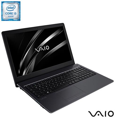 , Bivolt, Bivolt, Chumbo, 128 GB, 004096, Intel Core i3, Windows 10 Home, LCD, Não, 12 meses, Vaio