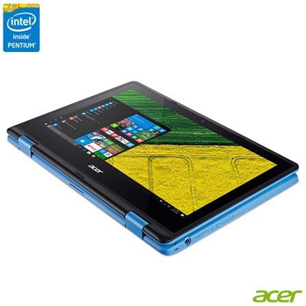 , Bivolt, Bivolt, Azul, Windows 10 Home, Intel Pentium, 000004, 500 GB, 12 meses, Sim, LED Touchscreen, Acer, Sim
