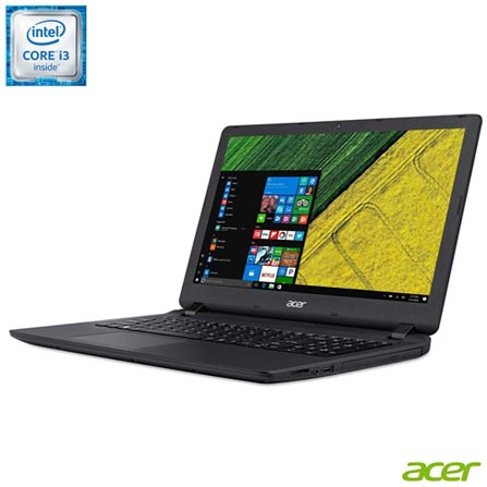 , Preto, Windows 10, Intel Core i3, 000004, 500 GB, 12 meses, Não, LED, Acer, Não