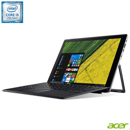 , Bivolt, Bivolt, Cinza, Windows 10 Home, Intel Core i5 Dual Core, 008096, 256 GB, 12 meses, Sim, LCD Touchscreen, Acer, Sim