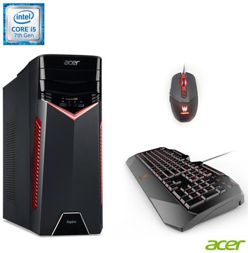 , Bivolt, Bivolt, Preto e Vermelho, Windows 10 Home, Intel Core i5, 008192, 1 TB, 12 meses, Acer