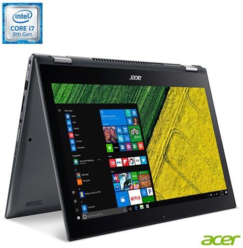, Não se aplica, Windows 10 Home, Intel Core i7, 000008, 512 GB, 12 meses, Sim, LCD Touchscreen, Acer, Sim