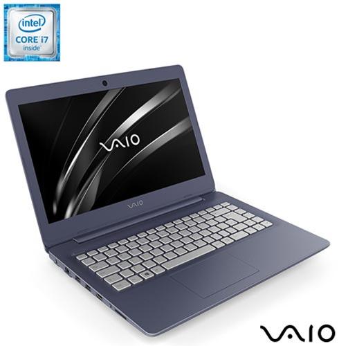 , Bivolt, Bivolt, Azul e Prata, 1 TB, 008192, Intel Core i7, Windows 10 Home, LCD, Não, 12 meses, Vaio