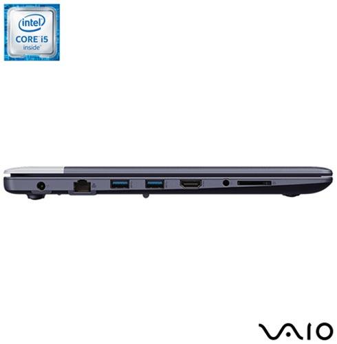 , Bivolt, Bivolt, Azul e Prata, 1 TB, 008096, Intel Core i5, Windows 10 Home, LCD, Não, 12 meses, Vaio
