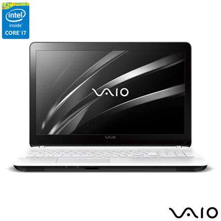 , Branco, 1 TB, 000008, Intel Core i7, Windows 10 Home, LCD, Não, Sim, 12 meses, Vaio