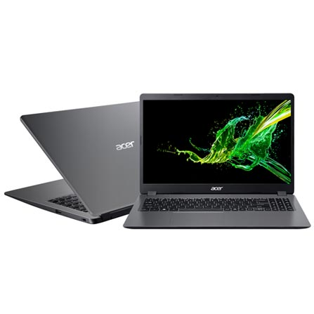 "Notebook - Acer A315-54k-31e8 I3-6006u 2.00ghz 4gb 1tb Padrão Intel Hd Graphics 520 Windows 10 Home Aspire 3 15,6"" Polegadas"