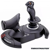 Joystick Thrustmaster T.Fligth Hotas X Preto