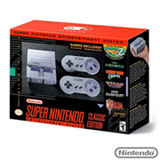 Super Nintendo Entertainment System SNES Classic Edition + 02 Controles + 21 Jogos
