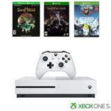 Console Xbox One S 1TB + 1 Controle + 3 Jogos