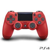 Controle sem Fio Sony Dualshock® 4 Vermelho para Playstation® 4