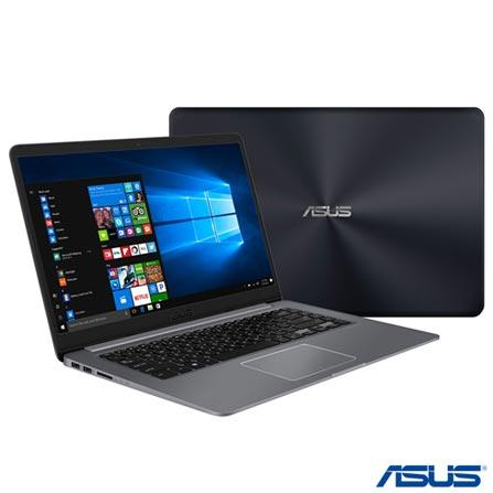 Notebook - Asus X510ur-bq291t I5-8250u 1.60ghz 8gb 1tb Padrão Geforce 930m Windows 10 Vivobook 15,6
