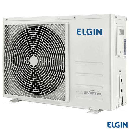 Ar Condicionado Split Hi-Wall Elgin Eco Inverter com 9.000 BTUs, Quente e Frio, Turbo, Branco - HVQI09B2IA, 220V, Branco, Split, 9.000 BTUs, 9.000 a 11.500 BTUs, Quente e Frio, 815 W e 809 W, 03 meses, Multi-Ar