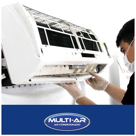 Limpeza para Ar Condicionado Split Parede Convencional de 7.000 BTUs a 10.500 BTUs, Não se aplica, Multi-Ar
