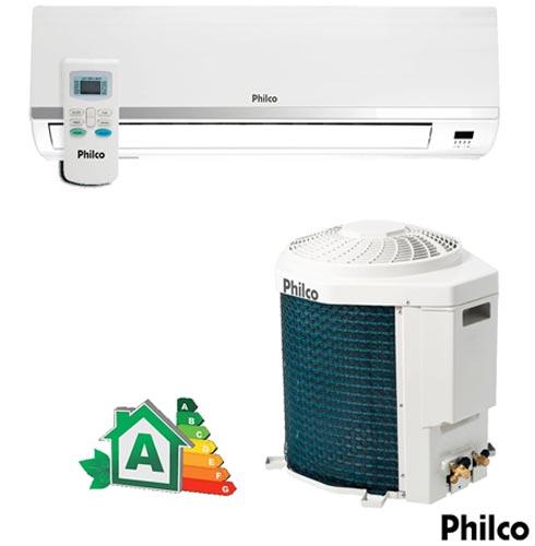 Ar Condicionado Split Hi-Wall Philco com 9.000 BTUs, Quente e Frio, Turbo, Branco - PH9000TQFM5, 220V, Branco, Split, 9.000 BTUs, 9.000 a 11.500 BTUs, Quente e Frio, 800 W, 03 meses, Multi-Ar