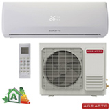 Ar Condicionado Split Hi-Wall Agratto Confort Fit com 9.000 BTUs, Frio, Turbo, Branco