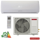 Ar Condicionado Split Hi-Wall Agratto Confort Fit com 12.000 BTUs, Frio, Turbo, Branco