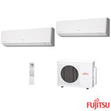 Ar Condicionado Multi Split Fujitsu Inverter com 2 x 9.000 BTUs, Quente e Frio, Turbo, Branco - ASBG09LMCA
