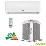 Ar Condicionado Split Hi-Wall Consul com 9.000 BTUs, Frio, Turbo, Branco - CBN09BBBNA