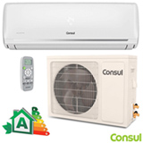 Ar Condicionado Split Hi-Wall Consul Inverter com 9.000 BTUs, Turbo, Frio, Branco - CBF09DBBNA