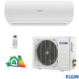 Ar Condicionado Split Hi-Wall Elgin Eco Logic com 12.000 BTUs, Frio, Turbo, Branco