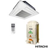 Ar Condicionado Split Cassete Hitachi com 24.000 BTUs, Quente e Frio, Turbo, Branco