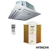 Ar Condicionado Split Cassete Hitachi com 45.000 BTUs, Frio, Turbo, Branco