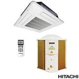 Ar Condicionado Split Cassete Hitachi com 36.000 BTUs, Quente e Frio, Turbo, Branco