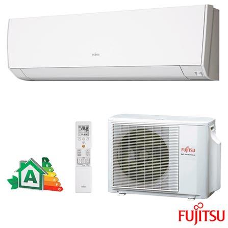 Ar Condicionado Split Hi-Wall Inverter com Sensor de Presença Fujitsu com 12.000 BTUs, Branco - ASBG12JMCA/AOBG12JMCA, 220V, Branco, Split, 12.000 BTUs, 12.000 a 18.500 BTUs, Frio, Não especificado, A, 12 meses, Multi-Ar
