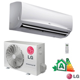 Ar Condicionado Split Hi-Wall LG Smart Inverter com 9.000 BTUs, Frio, Turbo, Branco - US-Q092WSG3