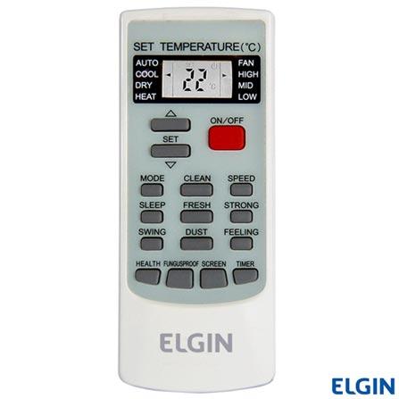 Ar Condicionado Split Elgin Hi-Wall Eco Plus com 12.000 BTUs, Frio, Turbo Mode, Branco, 220V, Branco, Split, 12.000 BTUs, 12.000 a 18.500 BTUs, Frio, 1075 W, A, 03 meses, Multi-Ar