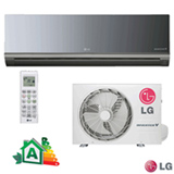 Ar Condicionado Split LG Hi-Wall Libero Art Cool Inverter V com 12.000 BTUs Frio Espelhado - AS-Q122BRG2