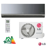 Ar Condicionado Split Hi-Wall LG Smart Inverter Artcool com 9.000 BTUs, Quente e Frio, Turbo, Espelhado - AS-W092BRG2