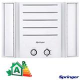 Ar Condicionado Janela Springer Duo Manual com 7.500 BTUs, Frio, Branco - QCA078BBB
