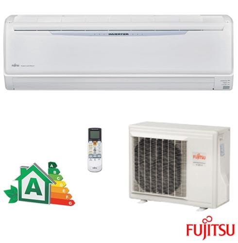 Ar Condicionado Split Fujitsu Hi-Wall Inverter com 18.000 BTUs Frio Branco - ASBA18JCC/AOBR18JCC, 220V, Branco, Split, 18.000 BTUs, 12.000 a 18.500 BTUs, Frio, Não especificado, A, 03 meses, Multi-Ar