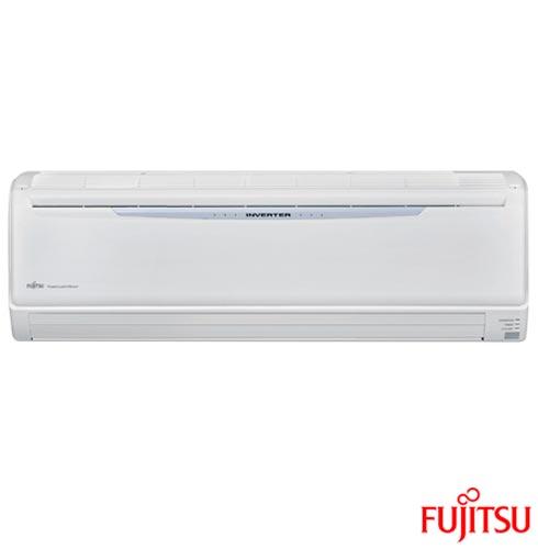 Ar Condicionado Split Fujitsu Hi-Wall Inverter com 22.000 BTUs, Frio, Branco - ASBA24JMCA/AOBR24JMLA, 220V, Branco, Split, 22.000 BTUs, 19.000 a 23.500 BTUs, Frio, Não especificado, A, 03 meses, Multi-Ar