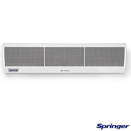 Cortina de Ar Springer com 1.20 m Branco - ACF12S5, 220V, Branco, Não especificado, 12 meses, Multi-Ar