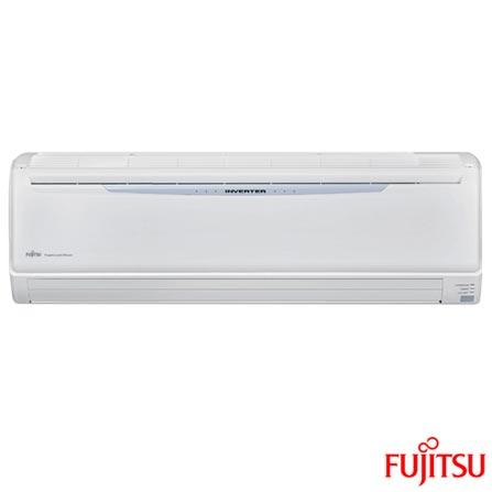 Ar Condicionado Split Fujitsu Hi-Wall Inverter com 27.000 BTUs Quente e Frio Turbo Branco - ASBA30LFC/AOBR30LFT, 220V, Branco, Split, 27.000 BTUs, Acima de 23.500 BTUs, Quente e Frio, Não especificado, A, 03 meses, Multi-Ar