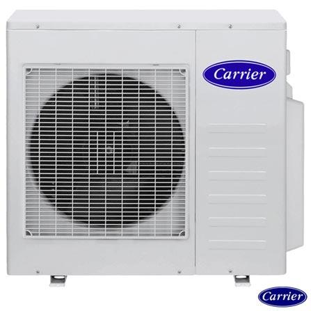 Ar Condicionado Multisplit Carrier Inverter com 4x 9.000 BTUs Quente e Frio Turbo Branco - 42LVMA09C5, 220V, Branco, Split, 9.000 BTUs, 9.000 a 11.500 BTUs, Quente e Frio, 03 meses, Multi-Ar