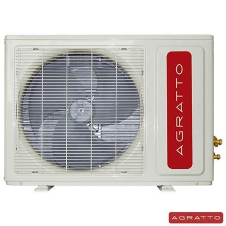 Ar Condicionado Split Agratto Confort Eco com 12.000 BTUs Frio Turbo Branco - ACS12FR4-02, 220V, Branco, Split, 12.000 BTUs, 12.000 a 18.500 BTUs, Frio, 1125 W, A, 03 meses, Multi-Ar