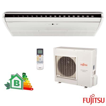 Ar Condicionado Split Teto Fujitsu Inverter com 32.000 BTUs Quente e Frio Branco - ABBA36LCT/AOBA36LFTL, 220V, Branco, Split, 32.0000 BTUs, Acima de 23.500 BTUs, Quente e Frio, 2920 W e 2960 W, B, 03 meses, Multi-Ar