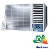 Ar Condicionado Janela Springer Silentia Eletrônico com 18.000 BTUs, Frio, Branco - ZCB185RB