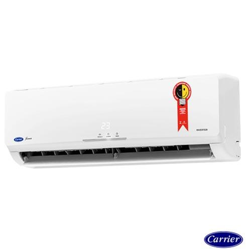 Ar Condicionado Split Carrier Inverter Novo X-Power com 18.000 BTUs Quente e Frio Turbo  Branco - 42FVQA18C5/38FVQA18C5, 220V, Branco, Split, 18.000 BTUs, 12.000 a 18.500 BTUs, Quente e Frio, 1599 W e 1556 W, A, 03 meses, Multi-Ar