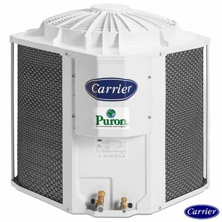 Ar Condicionado Split Carrier Piso Teto Space Eco Saver com 36.000 BTUs, Frio, Branco - 42XQS36C5/38CCK036515MC, 220V, Branco, Split, 36.000 BTUs, Acima de 23.500 BTUs, Frio, 3235 W, A, 03 meses, Multi-Ar