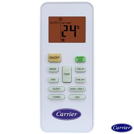 Ar Condicionado Multisplit Carrier Inverter com 2 x 9000 + 1 x 12000 BTUs Quente e Frio Branco - 42LVMA/38LVTA27C5, 220V, Branco, Split, Quente e Frio, A, 03 meses, Multi-Ar