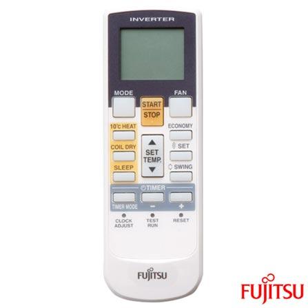 Ar Condicionado Split Fujitsu Teto Inverter com 42.000 BTUs, Quente e Frio, Branco - ABBG45LRTA/AOBG45LBTA, 220V, Branco, Split, 42.000 BTUs, Acima de 23.500 BTUs, Quente e Frio, 4260 W e 4140 W, C, 03 meses, Multi-Ar
