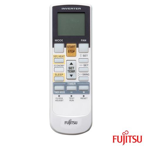 Ar Condicionado Split Fujitsu Hi-Wall Inverter com 24.000 BTUs, Quente e Frio, Branco - ASBA24LFC/AOBR24LFL, 220V, Branco, Split, 24.000 BTUs, Acima de 23.500 BTUs, Quente e Frio, Não especificado, A, 03 meses, Multi-Ar