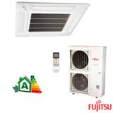 Ar Condicionado Split Fujitsu Cassete Inverter com 42.000 BTUs, Quente e Frio, Branco - AUBG45LRLA/AOBG45LBTA